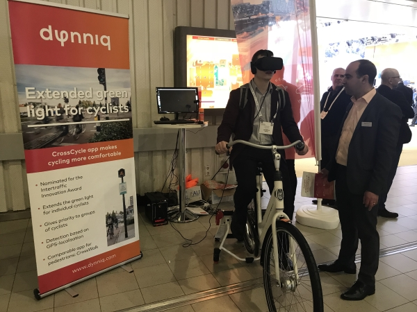 Dynniq selects Virtual Reality bicycle CycleSPEX - The Urban